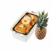 Terrine cremeux gros hachage dinde et ananas