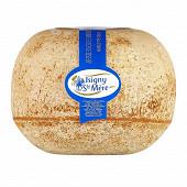 Mimolette vieille française label rouge 12 mois d'affinage au lait pasteurisé Isigny Ste Mère