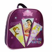 Sac à dos gouter maternelle violet princesses