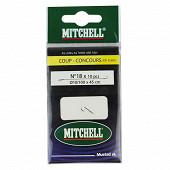 Mitchell hameçons montés bleus n18