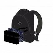 Sac à dos 1 compartiment Bodypack noir personnalisable + 2 poches