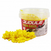 Pot de pates cuites jaunes