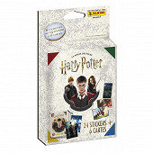 Album Panini - Harry potter saga blister de 6 pochettes