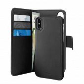 Samsung Etui à rabat noir avec magnet pour Iphone XR PUROFOLIOMAGNIP61B