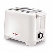 Moulinex - Grille-pain uno 2 fentes blanc - LT140111