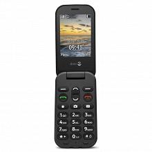 Doro Téléphone portable à clapet 6040 FULL GRAPHITE LS