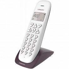 Logicom Téléphone sans fil solo VEGA 150 SOLO AUBERGINE