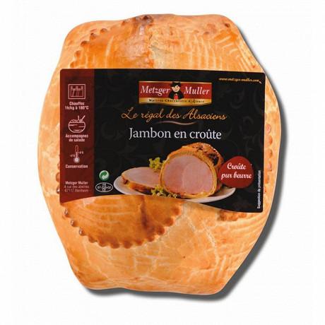 Veritable jambon en croute pur beurre