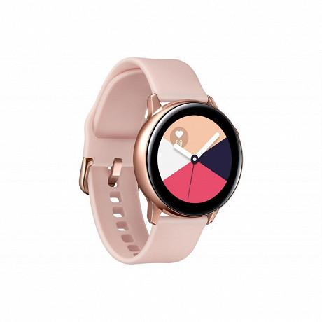 Samsung Montre connectée GALAXY WATCH ACTIVE ROSE GOLD