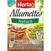 Herta allumettes nature 200g