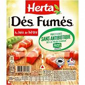 Herta dés fumés sans antibiotique 2x75g