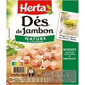 Herta dés de jambon 2x75g