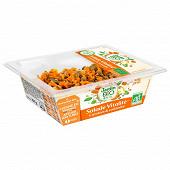 Jardin bio salade plaisir vitalité carottes & pois chiches au cumin 160g