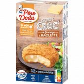 Pere dodu cheezy croc fromage à raclette 160g