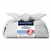 Montfort Foie gras de canard entier du Sud-Ouest sel de Guerande label rouge 250g