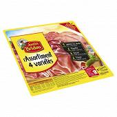 Justin Bridou assortiment 4 variétés format partage 260g