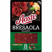 Aoste bresaola italienne 8 tranches 80g