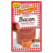 Cochonou bacon fumé 10 tranches 100g