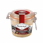 Delpeyrat foie gras de canard entier du sud-ouest authentique bocal 360g