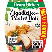 Fleury Michon aiguillettes de poulet grillé maxi format 250 g