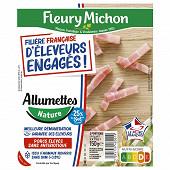 Fleury michon j'aime lardons nature -25%sel 2x75g