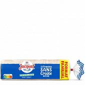 Jacquet sans croûte nature sans sucre ajoutés 33 tranches 710g format familial