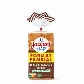 Jacquet 21 tranches complet sans sucres ajoutés 825g format familial