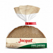 Jacquet fines tartines à la farine de seigle 500g