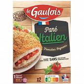 Le Gaulois 2 panés italien 200g