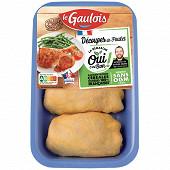 Le Gaulois haut de cuisse poulet jaune 360g