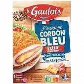Le Gaulois Escalope cordon bleu chapelure cornflakes 200g