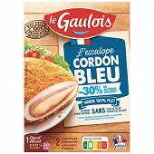 Le Gaulois 2 escalopes de cordon bleu -30% de matière grasse 200g