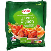 Cora manchons de poulet rôtis goût crème oignon 250g
