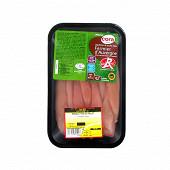 Cora aiguillettes de poulet label rouge blanc d'Auvergne 300g