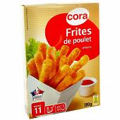 Cora frites de poulet 200g