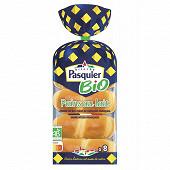 Brioche Pasquier 8 pains au lait bio 280g