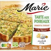 Marie tarte poireaux emmental pur beurre 400g