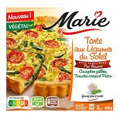 Marie tarte legumes du soleil fromage frais et basilic pur beurre 350g