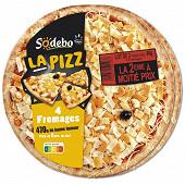 Sodebo La Pizz 4 fromages la 2ème à moitié prix 2x470g