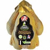 Eleveurs de Champagne poulet fermier jaune pac 1.5kg