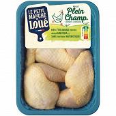 Le petit marché de Loué 4 cuisses de poulet jaune