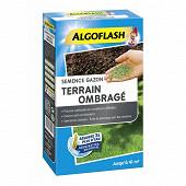 Algoflash semence terrain ombrage gazon 900 grammes