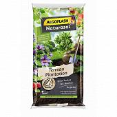 Algoflash naturasol terreau plantation  pour le jardin 40 litres uab