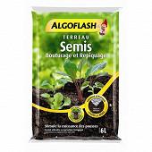 Algoflash terreau Semis, bouturage, Repiquage 6l