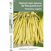 Francegraines haricot rocquencourt  nain mange tout beurre