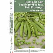 Francegraines Pois Petit Provençal  nain rond