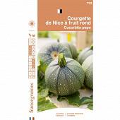 Francegraines courgette de nice à fruit rond