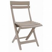 Grosfillex chaise Miami pliante lin 80x50x42 cm