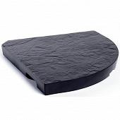 Eda lest beton 18kg pour pied de parasol a mat deporté  gris anthracite