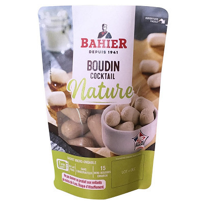 Regis Bahier Bahier boudin blanc cocktail 150g